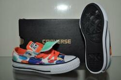 Converse Chuck Taylor All Star Girls Paint Dot Double Tongue Sneakers Size 11 $49.79