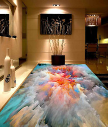 3D Color Painting 70 Floor WallPaper Murals Wall Print Decal 5D AU Lemon