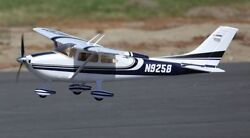 Sky Trainer 182 Wingspan: 55.5in 1410mm Ready To Fly Blue Brushless RC Airplane $249.99
