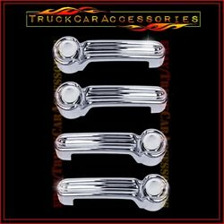 For JEEP Liberty 2008 2009 2010 2011 2012 2013 Chrome 4 Door Handle Covers wo P