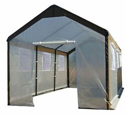 10 ft. W x 20 ft. L x 9 ft. H Gable Greenhouse Home Growing Plant Garden Outdoor