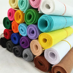 Roll Yard STIFF FELT FABRIC Non Woven Blend Wool Crafts DIY Material 1mm Thick