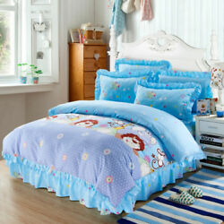 Monkey Twin Queen & King Size Duvet Cover Bedding Sheet Set Blue Camouflage