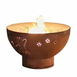 Funky Dog Electronic Fire Pit with Brass Burner - NG