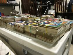 OVER 3700 BASEBALL CARDS from the 1950's - 1990's.