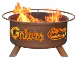 Rust University Florida Fire Pit Pits These Collegiate Grilling Before Big Also