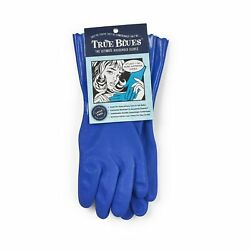 Star Kitchen amp; Home True Blues Ultimate Vinyl Household Gloves Blue $11.95