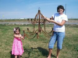 Largest Candle Chandelier Candelabra - Rustic Lighting for Home