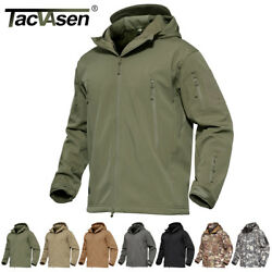 Waterproof Tactical Soft Shell Mens Jacket Coat Army Military Jacket Windbreaker $41.79