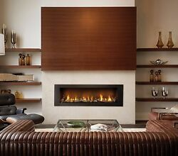 Napoleon LHD62 Vector Modern Gas Fireplace Linear Direct Vent 62 inch Large Big