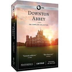 DOWNTON ABBEY the Complete Series Collection on DVD 1-6 Season 1 2 3 4 5 6