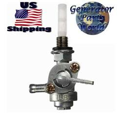 All Power America Petcock for Gentron Jiangdong Gas Generator Shutoff Valve $8.88