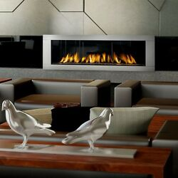 Napoleon LHD62 Linear Gas Fireplace Direct Vent Modern Huge Large Contemporary