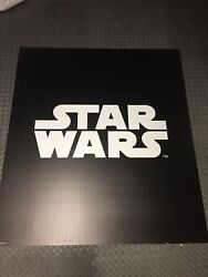 Star Wars Giant Vinyl wall mural with magnetic hanging strips