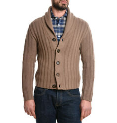 Eleventy Men's 979Ma0060mag200153 Brown Cashmere Cardigan