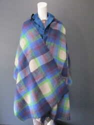 DANIELA GREGIS 50 % wool 50 % lino shawl NEW with TAG 94 inches x 27 inches