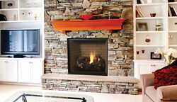 SUPERIOR DRT6340 Direct Vent Gas Fireplace Clean Face Design Modern or Tradition