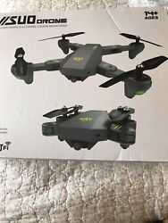 VISUO XS809W RC Quadcopter Wifi 0.3MP Camera Foldable 2.4G 6 Axis Drone Toys $70.00