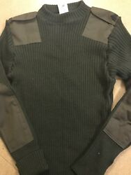 Green Wool USMC Woolly Pully Sweater Size 42 ECU Used