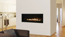 Astria Sirius Linear Direct Vent Clean Face Gas Fireplace Modern Design 54-inch