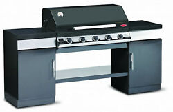 Beefeater 5 Burner Black 1100E Series Discovery Outdoor Kitchen 5 Burner BBQ