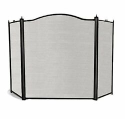 3 Panel Safety Gate Fence Curtain Door Cover Fire Place Screen Baby Safe Proof