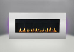 Napoleon WHD48 Plazmafire Wall Mount Hanging Fireplace Direct V SS Package Deal