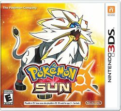 3DS Pokemon Sun for Nintendo 3DS Pokémon Sun Brand New $49.99