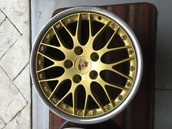Porsche 993 997 996 Classic Wheels II BBS Wheels GOLD FULL SET 18