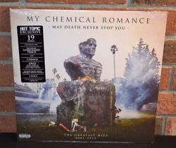 MY CHEMICAL ROMANCE - May Death Never Stop You LTD 2LP CLEARWHITE VINYL + DVD