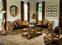 Luxury Brown Bronze Silk Chenille Sofa Set 4Ps Special Order Benetti's Violetta