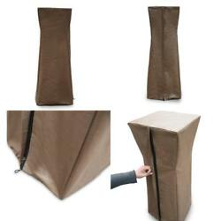 Pyramid Torch Patio Heaters Waterproof Outdoor Cover Brown