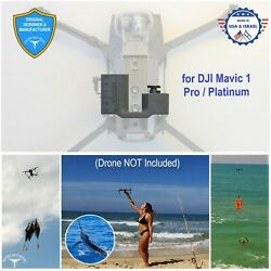 PROFESSIONAL Release Device Drone Fishing Payload Delivery for DJI Mavic PRO $179.00