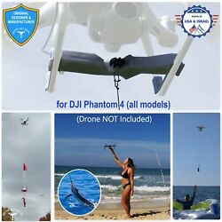 PROFESSIONAL Release Device Drone Fishing Payload Delivery for DJI Phantom 4 $179.00