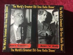 The World's Greatest Old-Time Radio Shows INNER SANCTUM  AMOS N ANDY CASSETTES