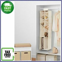 Real Simple Shoe And Boot Organizer Versatile Storage Compartments NEW!!