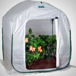 PlantHouse 3 FT Square Plant Cover Portable Mini Greenhouse Flower UV Protection