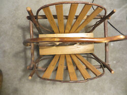 Country Cabin Magazine Rack Stand Holder - Rustic Log Home Decor PICKUP ONLY
