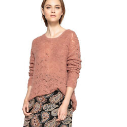 La Redoute Collections Womens Button Back Knit JumperSweater Br