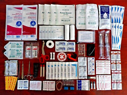 Trauma Kit Emergency Medical First Aid Essentials Family Survival Wound Care EMT