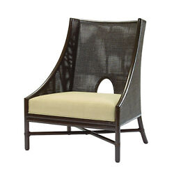 MCGUIRE SF Barbara Barry Caned Lounge Chairs (2)