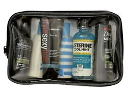 Hanging Toiletry Bag By Tailored Supply Co.  Travel Kit Organizer Case with Rem