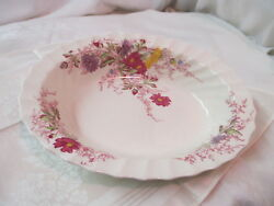 Vintage England Copeland Spode oval Serving Bowl Fairy Dell