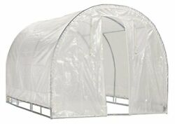 Greenhouse-Weatherguard Walk In Arched Top Garden Hot House Fully Enclosed - ...