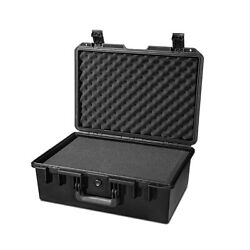 18in Hard Shell Case For Guns Cameras Drones with Pelican 1500 Style Pluck Foam $65.00