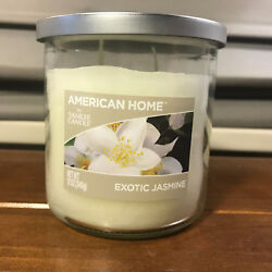 2 New American Home by Yankee Candle Exotic Jasmine12 oz Jar Candle Candles $31.99