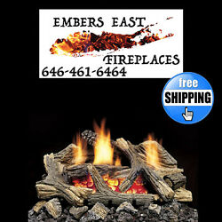 Monessen Aged Hickory Vent Free Gas Log Set 20