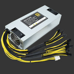 Bitmain APW3++ 1650W Brand New Power Supply For Antminer S9 L3+ S7 $179.99