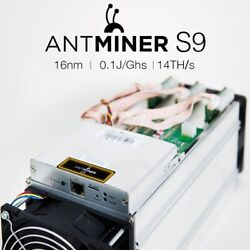 BRAND NEW Bitmain Antminer S9 13.5THs  - IN HAND FAST SHIPPING