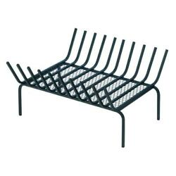 Iron replacement log holder fire pit grate indoor outdoor wood fireplace insert